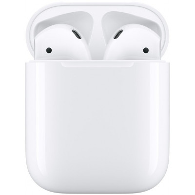 Apple AirPods 2 2019 с чехлом