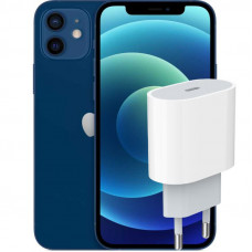 Apple iPhone 12 + Сетевая зарядка Apple 20Вт (MHJE3ZMA)
