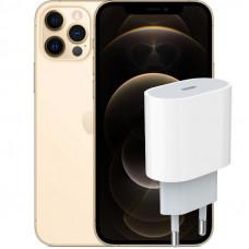 Apple iPhone 12 Pro + Сетевая зарядка Apple 20Вт (MHJE3ZMA)