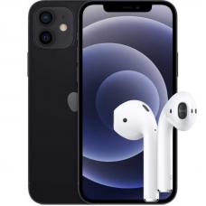 Apple iPhone 12 + AirPods 2 2019 (с беспроводной зарядкой чехла)