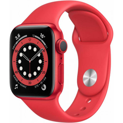 Apple Watch Series 6 (40mm) корпус из алюминия, спортивный ремешок купить в Ростове