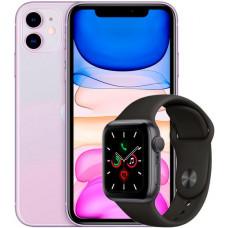 Apple iPhone 11 64Gb + Apple Watch S5 44mm Space Grey