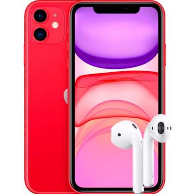Apple iPhone 11 128Gb + AirPods 2 2019 (без беспроводной зарядки чехла)