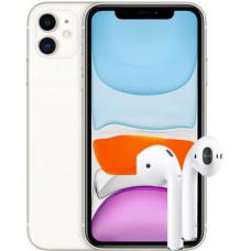 Apple iPhone 11 64Gb + AirPods 2 2019 (с беспроводной зарядкой чехла)