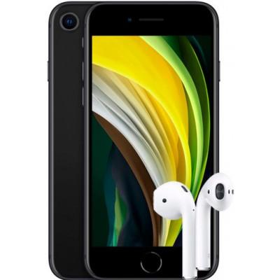 Apple iPhone SE 2020 128Gb + AirPods 2 2019 (с беспроводной зарядкой чехла)