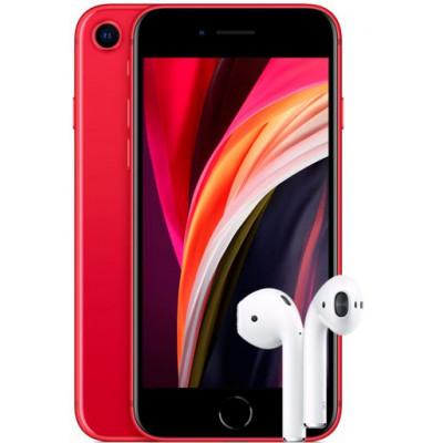 Apple iPhone SE 2020 64Gb + AirPods 2 2019 (без беспроводной зарядки чехла)
